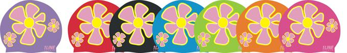 Flower Trio -- Silicone Cap