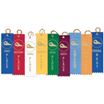 "50x Stock Swimming Ribbons - 2"" x 8"""