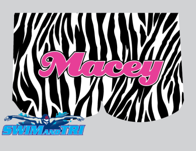 Completely Custom Zebra Drag / Macey