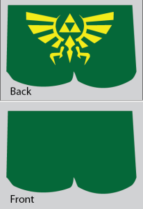 Custom Crest of Hyrule Drag