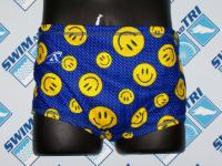 Smiley Faces Mesh Drag Suit