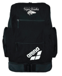 DeKalb Aquatics Team Arena Large Spiky Backpack w/logo (Black)