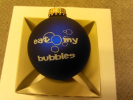 """Eat my bubbles"" Christmas Ornament"