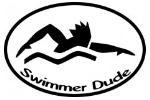 Swimmer Dude Decal