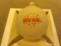 """gotta swim..."" Christmas Ornament"