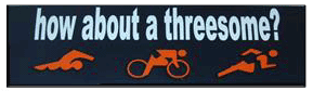 How about a threesome? Bumper Sticker