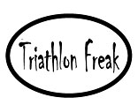 Triathlon Freak Decal