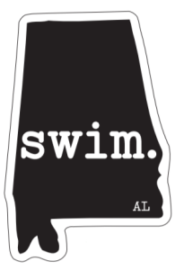 Swim Alabama Magnet