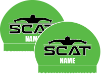 SCAT 2x Personalized Silicone Caps