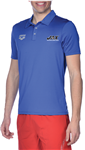 Blue Jackson Team Polo w/logo