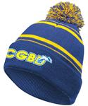 CGBD Pom Beanie w/Logo