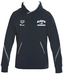 Carrollton Bluefins Hoodie w/Logo