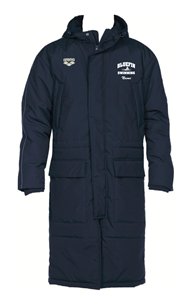 Carrollton Bluefins Parka w/Logo
