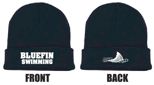 Carrollton Bluefins Team Beanies w/ Logos