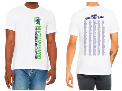 Broadstone Barracudas Quaranteam T-Shirt
