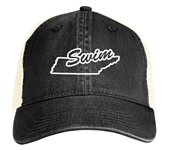 Custom State Swim Trucker Hat