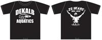 Dekalb Aquatics Black T-Shirt