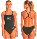 GPAC Skimpy Open Back Suit with Logo