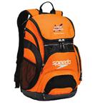 H2Okie Aquatics Orange Backpack w/Logo