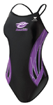 Highlands Hurricanes Girls Suit w/Logo