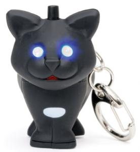 Kitty Cat LED Keychain