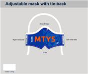 MTYS Custom Tie-Back Mask