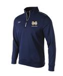 Makos Fleece Quarter Zip w/Vegas Gold Logo