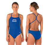 McCallie/GPS Female Open Back Suit w/logo