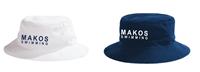 Mississippi Makos Bucket Hat w/Logo