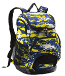 Mississippi Makos Printed Backpack w/Logo