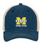 Makos Trucker Hat w/Logo