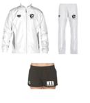 NTA Team Warm-Up Set and Female Short w/Logo Bundle