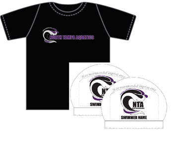 NTA Required Dri-Fit Shirt and 2x Personalized Silicone Cap Bundle