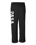 PASA Alto Open Bottom Sweatpants w/ Logo