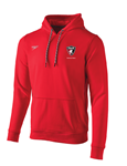 PASA Red Fleece Hoodie Sweatshirt w/Logo
