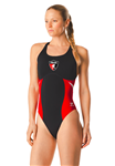 PASA Female Thick Strap Suit w/Logo