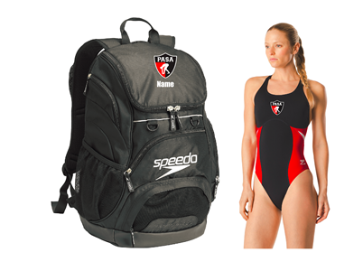 PASA Registration Bundle - Backpack & Female Thick Strap w/Logo