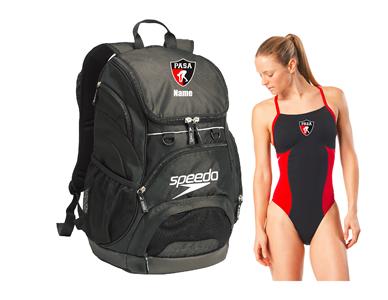PASA Registration Bundle - Backpack & Female Thin Strap w/Logo