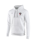 PASA White Fleece Hoodie Sweatshirt w/Logo