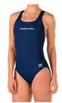 Poseidon Female Thick Strap Suit w/Logo