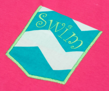 """Swim"" Pocket Tee's"