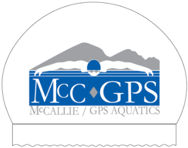 McCallie GPS Aquatics Set of Two Personalized Silicone Caps