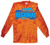 2016 3A Regional Meet - Tie Dye Long-sleeved T
