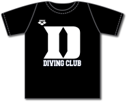 Duke Diving Black Tee