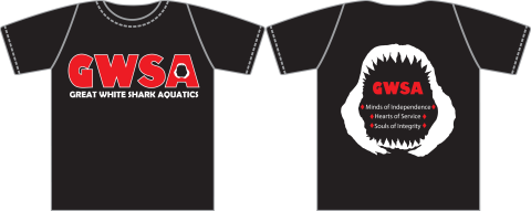 2017 Great White Shark Aquatics Shirt