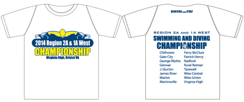 2014 Region 2A and 1A West Champ Shirt