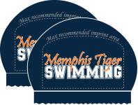 2x Memphis Tiger LC 2016 Silicone Team Cap