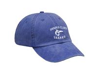 Shades Cliff Pigment Dyed Baseball Cap w/Logo