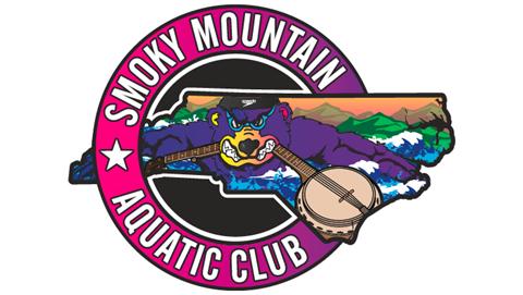 Smoky Mountain Aquatic Club Car Magnets