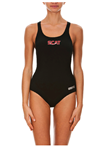 Space City Aquatic Team Female Thick Strap Suit w/Logo